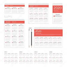 Corporate Identity Template Calendar. — Stock Vector © Art-Sonik ...