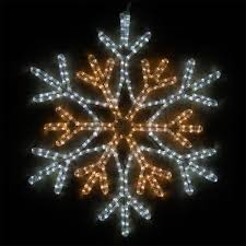 Ice White Led Christmas Lights Led 36 Point Star Center Snowflake Cool White And Warm