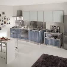 Industrial Kitchen Cabinets 30 Popular Stainless Steel Kitchen Cabinets You Need To Know