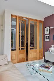 internal glass double doors