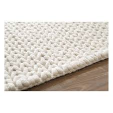 white rug. shop wayfair for nuloom textures cable chunky white area rug - great deals