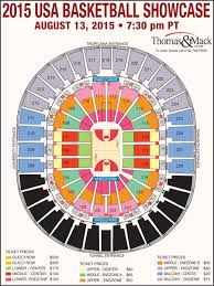 Nfr Seating Chart With Rows Unlvtickets Usa Basketball