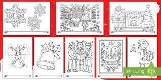 You've come to the right place! Colouring Templates Christmas Activities Adults And Kids