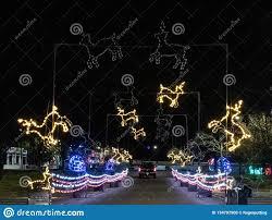 Cranbury Christmas Lights Pnc Bank Arts Center Christmas Lights Editorial Image