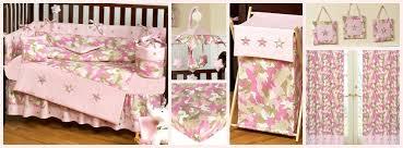 Pink Camo Crib Bedding Camouflage Nursery Decor