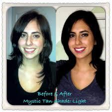 makeup after spray tan photo 2