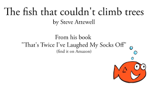 poems for children the fish that couldn t climb trees funny kids poetry