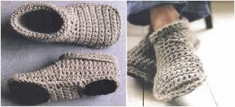 Free Crochet Slipper Patterns Cool Slipper Boots Free Crochet Pattern [video]