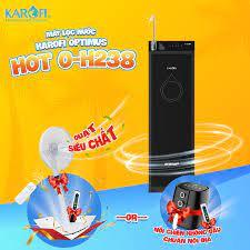 Máy Lọc Nước KAROFI Optimus 8 lõi lọc HOT+ O-H238 chính hãng