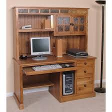 sunny designs 2863ro d 2863ro h sedona 58 computer desk with hutch