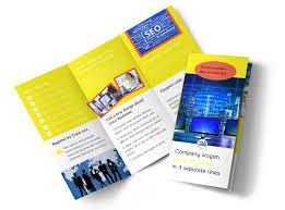 Fun Brochure Templates Fun Web Designers Tri Fold Brochure Template
