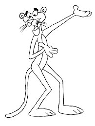 The Pink Panther coloring pages on Coloring-Book.info | Dreamworks ...