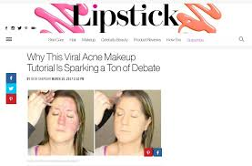viral make up video the best concealer for acne or bad skin care