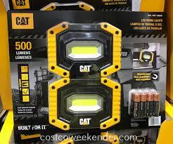 Costco Led Work Light Cat Led Work Lights 2 Pack Costco Weekender