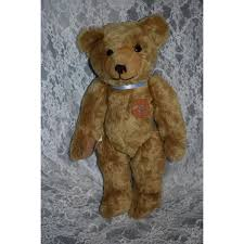 sweet bing teddy bear jointed w leather tag and coa oldeclectics ruby lane