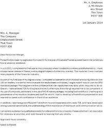 Excellent Inspiration Ideas Recent Graduate Cover Letter   Example     florais de bach info