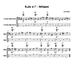 Playing Jazz Bass Arpeggios Passing Notes And Chords