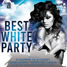 Best White Party Free Psd Flyer Template Free Psd Flyer