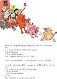 Grade 2 Reading Lesson 15 Fables And Folktales The Gingerbread Boy ...