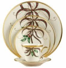 lenox holiday china.  China Holiday Nouveau Ribbon Fine China By Lenox For