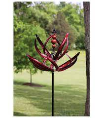 motion kinetic spinner garden stake 91