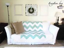 for sofa table ideas with fresh slipcover no sew diy cover 17 couch