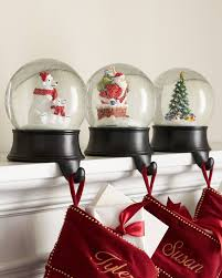 ... Snow Globe Stocking Holder Alt