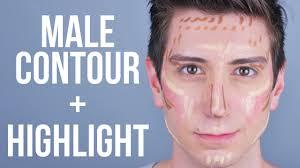 contour highlight tutorial for men male makeup guy makeup yours