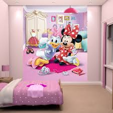 Minnie Mouse Wallpaper For Bedroom Minnie Mouse Selfie Wallpaper By Walltastic Great Kidsbedrooms