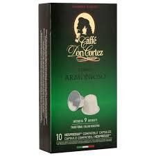 <b>Капсулы</b> для кофемашин <b>DON CORTEZ</b> Armonioso 10 шт