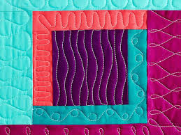 339 best Quilting - Free Motion images on Pinterest | Cushions ... & 13 Creative Ways to Fill a Square With Quilting Adamdwight.com
