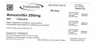 Amoxicillin Capsules Usp 250 Mg And 500 Mg Amoxicillin