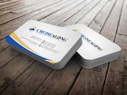 Elegant Playful Insurance Business Card Design For