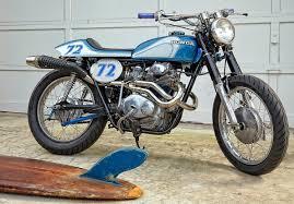 honda cb350 street tracker by vintage iron bikebound