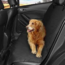 pet seat cover top waterproof nonslip dog car seat cover universal scratch proof dog seat protector pet travel car backseat hammock with seat anchors