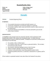 63 Incident Report Examples Docs Pdf Pages