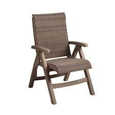 wicker folding chairs. Plastic Resin Java All-Weather Wicker Folding Chair Chairs