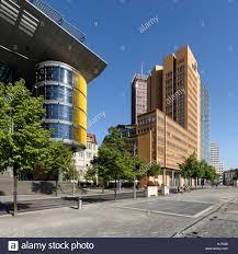 high tech modern architecture buildings. Haus Huth (1912), On Fontaneplatz, Linkstraße, Dwarfed By High Tech Modern Architecture, Potsdamer Platz. Office Buildings, Debis B4 Architecture Buildings H