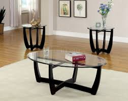 image glass coffee table and end tables dafni set in black p dark wood sets gold metal piece round clear side with small living room contemporary