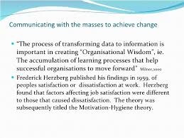 on change management essay on change management