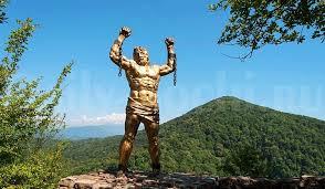 Скульптура Прометею Правда и вымыселdaily sochi ru Ежедневный Сочи Скульптуры Сочи