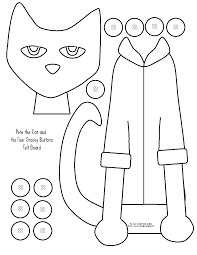 Small Picture Free Pete The Cat Coloring Page464807