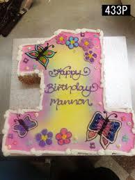 433 P 1 St Birthday Butterfly Cake Country Cakes
