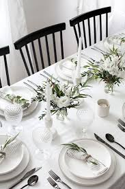 dining place settings. 5 Tips To Set A Simple And Modern Tablescape. Place SettingSimple Dining Settings N