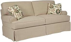 luxury 2 cushion sofa slipcover 8 sure fit stretch faux leather piece t vs 3
