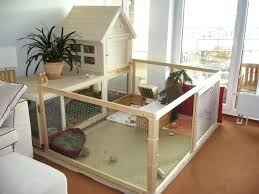 found image diy rabbit cage cleaner indoor housing