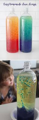 Homemade Lava Lamps