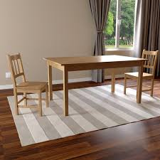 simple living furniture. simple living bamboo 5piece dining set furniture