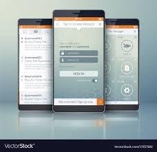 Mobile App Design Templates Pinterest Html5 Free Download Sketch