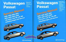 volkswagen passat shop service manuals at books4cars com 98 2005 passat shop service repair manual 1 882 pages covering all gas versions including 4motion v6 w8 1 8l turbo wagon 6 speed 2 8 4 0 wiring diagrams and